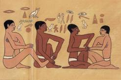 Egyptian Papyrus Reflexology