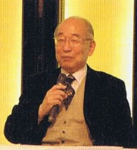 Hiroshi Doi speaking on the subject of Reiki