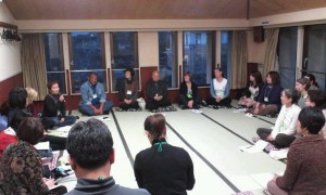 Opening meeting for international delegates at the Gendai Reiki Network International Conference 2012 in Kyoto