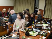 Our first meal at the Gendai Reiki Network International Conference 2012, in Kyoto